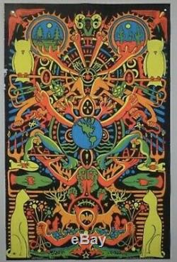 1970 Blind Faith Vintage Blacklight Poster By Third Eye Inc