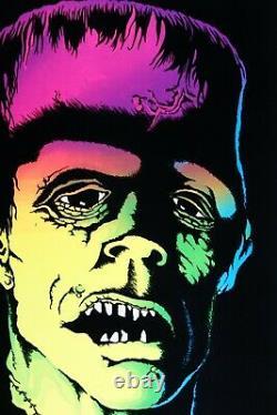 1978 Vintage Blacklight Poster Frank Monsterfrankenstein Rare Aa Sales Pinup
