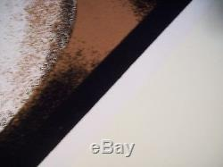 2001 TUPAC SHAKUR OUTLAW BLACK LIGHT POSTER 2PAC 23 X 35 RARE velvet HIP HOP