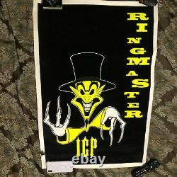(6) Insane Clown Posse Blacklight Posters Psychopathic Jokers Cards Vintage