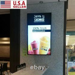 A1/A2/A3/A4 Poster Led Light Box Display Frame Store Advertising Poster Frame