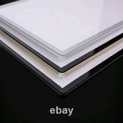 A1 Ultra Slim 10mm Light Menu Box Advertisement Poster Display Black Boarder Al