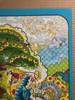 Alice In Wonderland Original Vintage Blacklight Poster Impulse Ceruenak 1967 60s