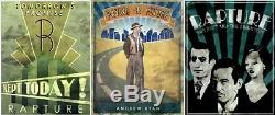 BioShock 2 Special Edition BLACKLIGHT POSTERS (Xbox 360/One/X/PS4/PS3) collector