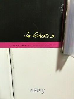 Bob Dylan Blacklight Poster 21 3/4 x 30 1/2 Joe Roberts Jr. Great Condition