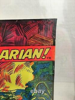 CONAN THE BARBARIAN MARVEL THIRD EYE Black light poster TE4024 BARRY SMITH