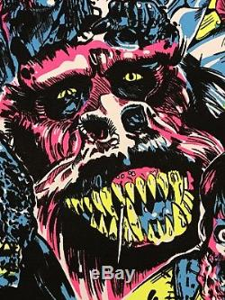 Creepshow Stephen King BlackLight Print Poster Mondo Horror Movie Black Light