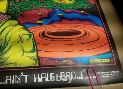 DUST ON MARS AIN'T HALF BAD 1972 VINTAGE 420 BLACKLIGHT NOS POSTER By PETAGNO