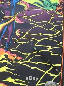 Dr. Strange Eternity, Eternity 1971 Third Eye Black Light Marvel Poster 4001