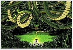Dragon Ball Z Sam Mayle Poster Screen Print Art Blacklight 24x16 Mondo