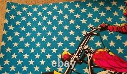EASY RIDER 1970 VINTAGE MOTORCYCLE BLACKLIGHT POSTER Dennis Hopper 29x43