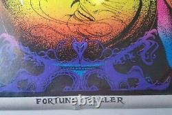 FORTUNE TELLER 1971 VINTAGE PSYCHEDELIC POSTER By BUNNELL, STAR CITY NICE 28x40