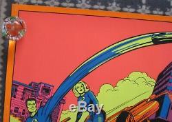 Fantastic Four 1971 Third Eye Black Light Marvel Poster 4012