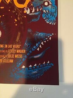 Fear and Loathing Poster by Nikita Kaun Like Mondo #d/50 blacklight inks