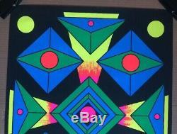 Focus Original Vintage Blacklight Poster Third Eye Inc 1969 Nadziejko 1960s