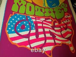 GOD MOTHER COUNTRY 1967 VINTAGE PSYCHEDELIC BLACKLIGHT POSTER By Steve Sachs