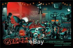 Gremlins BLACKLIGHT by Vance Kelly Ltd x/425 Poster Print Art 36x24 Mondo MINT