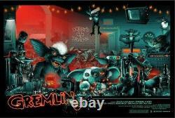 Gremlins Blacklight Monster palooza BY Vance Kelly Poster Print Art 36x24 Mondo