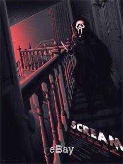 Halloween Myers Jaws Friday 13th Freddy Mondo Scream Blacklight Art Print poster