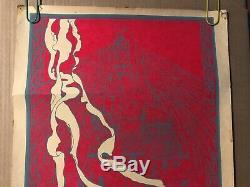 Hambly Studios Psychedelic Blacklight Poster 1960s Head Shop Original Pin Up
