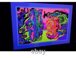 Hand of Shiva LORD OF LIGHT Blacklight Print Jack Kirby / Barry Geller SIGNED