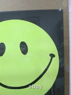 Have A Happy Smile Black Light Psychedelic Vintage Poster 1970's Cng95