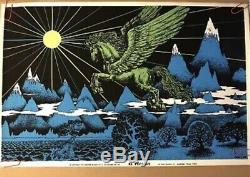 Huge Original Vintage Blacklight Poster Lot 100 Posters Wholesale Collection 70s