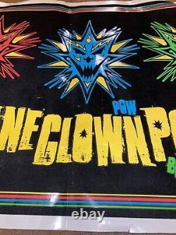 ICP Insane Clown Posse Bang! Pow! Boom! Black light Poster