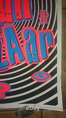 ICP Insane Clown Posse Bizzar Bizaar Blacklight Poster 2001 Juggalo icp psy