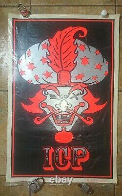 ICP Insane Clown Posse The Great Milenko Blacklight Poster 1997 Juggalo icp psy