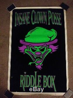 ICP Riddle Box Black-light Poster