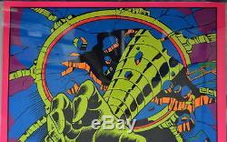 INCREDIBLE HULK PSYKLOP THIRD EYE BLACKLIGHT POSTER 1971 Rare Marvelmania