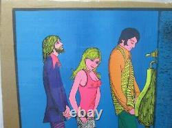 It's Not Nice To Fool Mother Nature Lib Black Light Vintage Poster 1972 Cng378