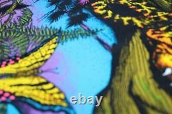 Jaguar Big Cat #133 Vintage Black Light Poster 1978 Funky Enterprises 35 x 23