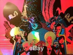 Jeremy Wheeler BLADE RUNNER Foil Variant Blacklight Poster xx/20 HCG Bottleneck