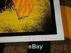 Jim Morrison #948 Black Light Velvet Poster 24 X 34 Rock Vintage