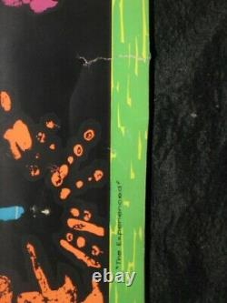 Jimi Hendrix Joe Roberts RSC ORIGINAL Blacklight Poster Cocorico Graphics RARE