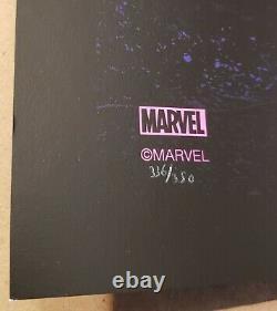 Juan Ramos X-Men Black Light Art Print Poster Bottleneck Marvel Grey Matter Art
