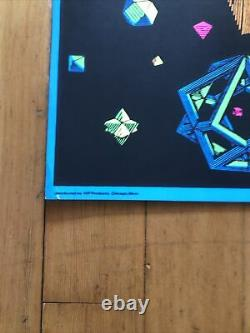 LOT OF 5! M. C. Escher Stars Blacklight Posters Never hung NOS Five posters