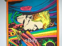 Marvel 1971 Astral Thor Third Eye Black light poster TE4006 JACK KIRBY