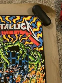 Metallica Dirty Donny Ktulu Rise Screen Printed Blacklight Poster 54/500 LIMITED