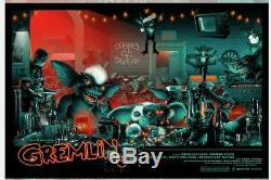 Monsterpalooza 2019 Gremlins Vance Kelly Blacklight Poster Print Art 36x24 Mondo