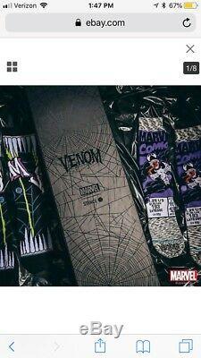 NYCC 2018 EXCLUSIVE Marvel X Stance Venom Blacklight Poster and Socks