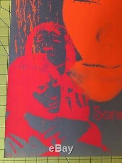 ORIGINAL Black light SONNY and CHER Created in 1967 James K. Gurney