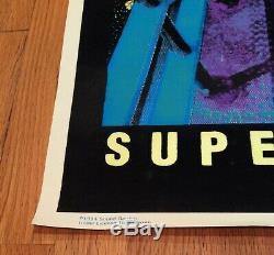 Original 1994 Soundgarden Superunknown Black Light Poster Art Nirvana shirt tee