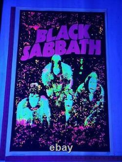 Original 2008 Black Sabbath #1890 Blacklight Poster 23x 35 Scorpio Ex++ RARE