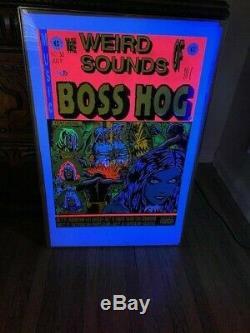 Original Frank Kozik Boss Hog July 1993 Silkscreen Poster #333/500 Print 22x35