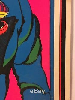 Original Vintage Blacklight Poster 1972 Chereskin I Want You 70s Womens Lib