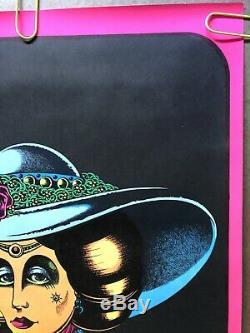 Original Vintage Poster snort delicious cocaine Blacklight petagno drugs