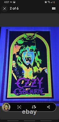 Ozzy Osbourne # 1887 Blacklight Poster Brand New Never Opened
